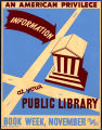 Information at your public library: an American privilege