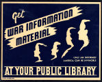 Get war information material at your public library