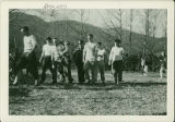 Black Mountain College football game, ca. 1946-1948