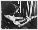 Anni Albers card weaving at Black Mountain College