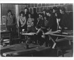 Josef Albers' Drawing Class, Black Mountain College