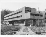 Studies Building construction, Lake Eden campus, Black Mountain College, 1940-1941