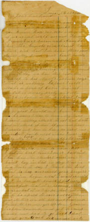 Letter: Martha Hendley Poteet to Francis Marion Poteet, June 16, 1864