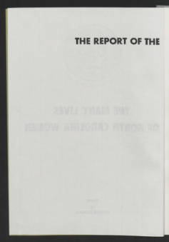 Commission Report. Printed copies (2)