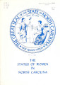 item thumbnail for Status of women in North Carolina: presented to the 1975 North Carolina General Assembly